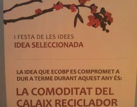 EcoBP implementarà una idea d'alumnes de 6è per millorar el reciclatge a la comarca