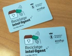 Continua la campanya d'informació i entrega de targetes electròniques a Bellvei.